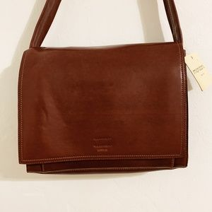 Mondani New with Tag Brown Leather Handbag